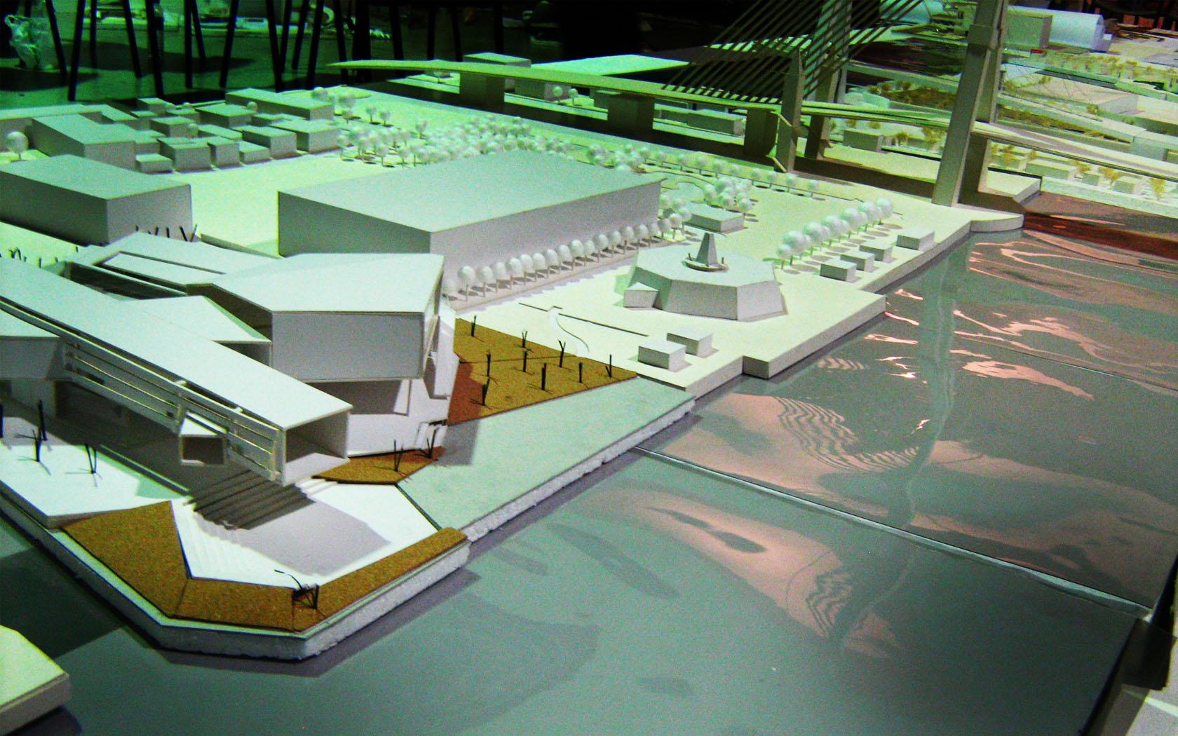 Bangkok performing arts center achawin design for Center tipoi design